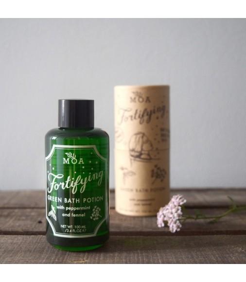 Fortifying Green Bath Potion