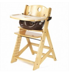 Keekaroo Height Right High Chair + Infant Insert + Tray Combo