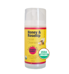 버블앤비 Bubble & Bee Honey & Rosehip Facial Cleanser (Certified Organic)