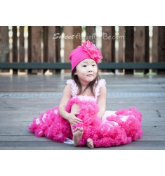 Girl Pink Raspberry Pettiskirt Set