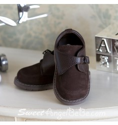 Designers Touch Brown Nubuc Oxford