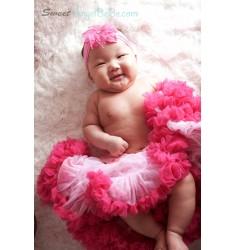 Baby Pink Raspberry Pettiskirt
