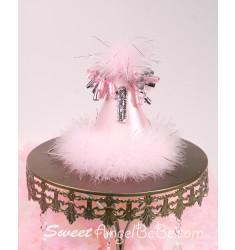 Pink Sliver Glitter - 1year