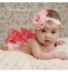 Rose Babe Bloomer Set