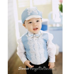 My Blue Bell Vest Set
