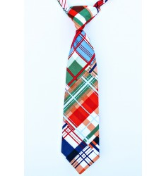 Seaside Plaid Neck Tie