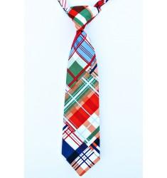Seaside Plaid Neck Tie