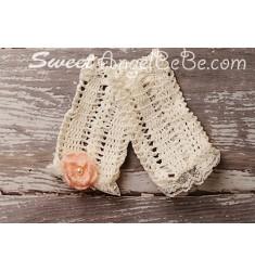 Soft Crochet Footless Socks