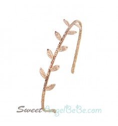 Golden Leaf Headband